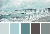 Spa Color Palettes