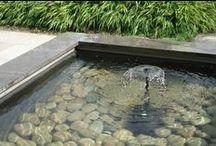 Water in de tuin / Vijvers, waterelementen, waterloopjes
