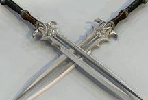 09 - Lâminas / Imagens de facas, facões, espadas e outras lâminas.