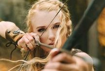 female archers!! / a women, a bow and an arrow...  the perfect combination!!!