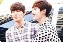 Jong Suk and Woo Bin ~~