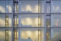 Bendheim Glass Wall Systems / Bendheim's channel glass is a three-dimensional, U-shaped architectural glass that can be used to create seamless glass walls of virtually limitless lengths and astonishing heights of up to twenty-three feet.