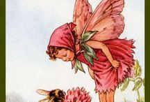 Art - Cicely Mary Barker / Flower Fairies etc