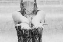 Raining....moments....