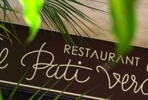 Restaurant El Pati Verd / by HotelCarlemanyGirona