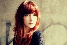 Red Hair / I adore red hair. If it looked good on me, I'd totally dye mine. Been there, done that. It wasn't pretty. ha.