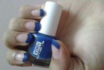 Mansi / a simple nail arts !!!!