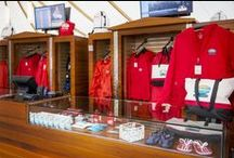 Mist Gear Retail / Hornblower Niagara Cruises offers a wide selection of waterproof retail items to keep you dry and warm from the mist of Niagara Falls.