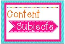 Content Subjects / Content Subjects