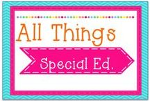 My Blog- All Things Special Ed. / All Things Special Ed. tales from a resource room