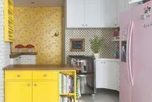♥ H o m e || K i t c h e n / Inspirações de cozinhas super lindas!