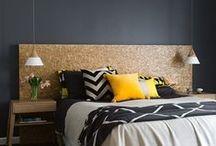 ♥ H o m e || H e a d b o a r d / Inspirações de lindas cabeceiras de cama