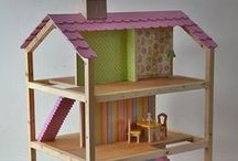 Puppenhaus und Kaufmannsladen / kleine Ideensammlung