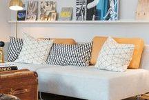 ♥ H o m e || L i v i n g r o o m / Inspirações das mais lindas salas de estar