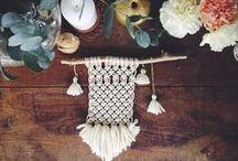 Beautiful ideas / Weaving & Macrame