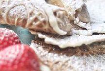 Sweets / Es soll ja Menschen geben, die essen sich nur wegen des Desserts durch ein Menü. Egal: Süß geht immer. Und hier gibt's die passenden Rezepte dafür.