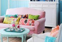 Lugares de la casa / Bellas habitaciones decoradas, con estilo y buen gusto.