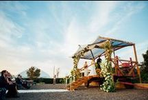 Weddings & Events / The Flower Fields are more than just beautiful fields of color; they provide a stunning backdrop for your wedding, corporate gathering or other special event.
