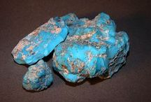 American Turquoise / John and Dillon Hartman are amoung the very few authorities of fine quality natural Turquoise in the world. Real high grade natural Turquoise is very rare and difficult to find - it is our specialty.