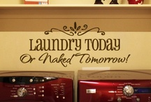 It All Comes Out In The Wash / Laundry room ideas