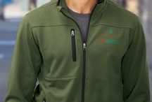 Personalized Jackets for Men / Need business jackets for the men at work?  Our personalized company jackets page will give you ideas for styles and custom embroidery options.  We also do custom corporate jackets with your logo.  Look no further for your customized promotional jackets, embroidered jackets, personalized fleece jackets, and logo imprinted windbreakers, and team jackets for men!