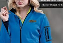 Ladies / Women's Personalized Jackets / EZ Corporate Clothing offers women's jackets, down coats for women, women's rain jackets, fleece jackets, and more.  Our ladies personalized jackets include custom left chest embroidery with your own custom corporate logo.  Take a look through our ladies jacket board to get some ideas about your company's custom look.  We guarantee you'll be happy with whatever ladies jackets we have in your budget!
