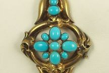 Antique Turquoise Jewelry | Durango Silver Company / This is a beautiful selection of authentic Antique Turquoise Jewelry from around the world. Turquoise was one of the first gemstones found by man over 7,500 years ago. Antique Turquoise Jewelry is very special, collectible and will grow in value in the years to come.