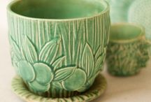 pottery inspiration / by Marie Tornow
