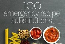 {Food - How To/Substitutes/Cheat sheets}