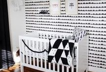 Nursery Color Trends- Black and White / by Miss Polly's Piece Goods