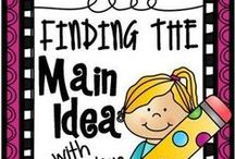 Main Idea and Theme / by Jennifer Adair