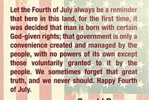 July 4th and All Patriotic Things