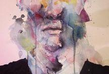 Fine Art, Painter, Charcoal, Fantastic / by Artbay