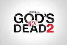 """God's Not Dead / Inspiring content from the beloved movie """"God's Not Dead"""" and our newest release """"God's Not Dead 2"""""""