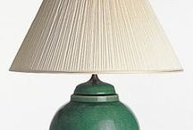 Hand Crafted Pottery Lamps / Lamps and Shades Made By Hand.