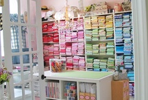 Sewing Spaces / by Fairytale Frocks & Lollipops