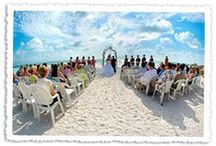 weddings on the beach / beach and beach-themed weddings