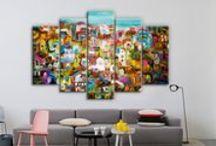 Πίνακες σε καμβά & Multi Panel