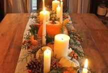 Thankful All Year Long~ Thanksgiving :) / Lots of Thanksgiving tablescapes and decor ideas, plus some traditional things as well. / by Ciao, Bella! :)