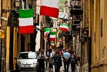 Italian and Proud! Italiana e Orgogliosa! / Viva l'Italia Per Sempre! I love my country!!!! / by Ciao, Bella! :)