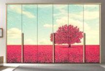 Αυτοκόλλητα Ντουλάπας / Αυτοκόλλητα Ντουλάπας σε φανταστικά σχέδια από την HouseArt για να δώσετε άλλο αέρα στο σπίτι σας!!
