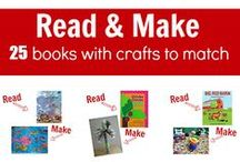 Book-Based Activities, Crafts, and Projects / Ways to use books as inspiration for students to be creative
