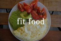 Fit Food / Workout all you might, it is the food you eat that will get you right. / by Beautyfit Girls