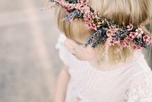 Moodboard: Flower Crown Love / A what to wear guide for a flower crown themed photoshoot for Family and Maternity session.