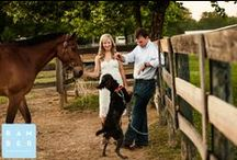 Puppy Love Engagement Sessions / Who doesn't love their puppies? Puppy Love Engagement Sessions