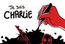 Nous sommes Charlie / Réactions des dessinateurs du CESAN suite à l'attentat de #CharlieHebdo