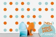MINI PACK STICKERS / ΝΕΟ ΠΡΟΪΟΝ MINI PACK! Σετ απο αυτοκόλλητα τοίχου για παιχνιδιάρικο ύφος στο σπίτι σας!  Αυτοκόλλητα τοίχου Mini Pack: http://www.houseart.gr/autokollita-toichou/mini-pack/385