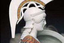 griekse beeldhouwkunst kleur