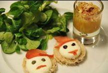 """Mes plats rigolos : salé / recettes amusantes du blog """"Miam miam ou beurk"""""""