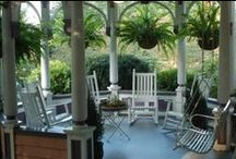 Porches!! / Nothing sweeter than a peaceful porch to calm the soul and nurture the heart ! / by Beaufort House Inn